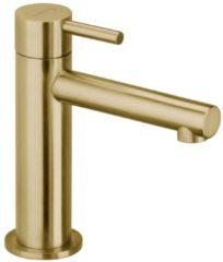 Roestvrijstalen Herzbach DESIGN iX pvd fonteinkraan zonder waste brass 4.5x15.5cm steel 21.950860.1.41