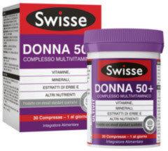 Swisse Donna 50 Multivitaminico Integratore Alimentare 30 Compresse