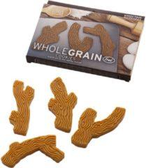 Bruine Fred Wholegrain Cookies Branch Bakvorm