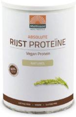 Mattisson HealthStyle Absolute Rijst Proteine Poeder 400gr