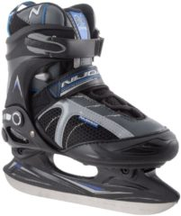 Zwarte Nijdam Semi-Softboot IJshockeyschaats - Zwart - Maat 36