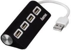 Hama USB 2.0 hub met 4 poorten schuin USB Hub