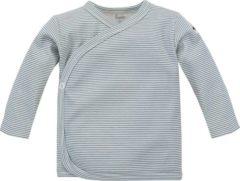 Blauwe Pinokio - Babykleding - Hemd - Maat 56