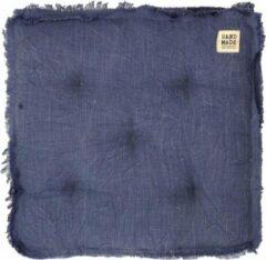 Limelight MATRASKUSSEN 45x45x8cm Donkerblauw