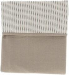 Snoozebaby wieg deken van organic katoen - 75x100cm - T.O.G. 1.0 - Warm Brown bruin