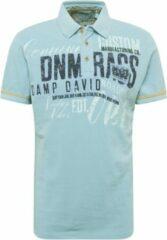 Lichtblauwe Camp David Heren Poloshirt Maat M