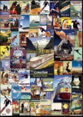 Eurogra Puzzel 1000 stukjes-Railroad adventures