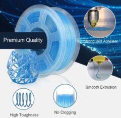 SUNLU PLA filament 1.75mm 1kg Blauw Glitter