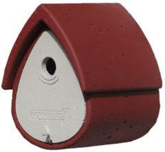 Meisenresidenz 1MR, rot/grau Schwegler rot