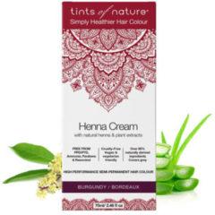 Tints Of Nature Henna cream burgundy semi permanent 70 Milliliter
