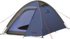 Grijze Easy Camp Meteor 200 tent blauw