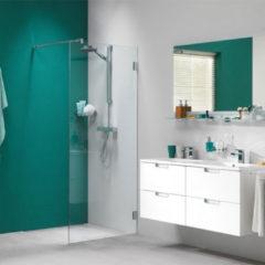 Sealskin Get Wet I AM inloopdouche 100x200cm chroom zilver hoogglans helder glas voorzien van sealglas CKA31006335100