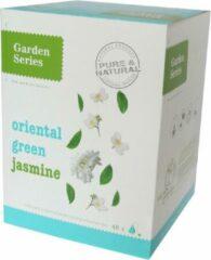 Groene Jasmijn Thee - Oriental groen Jasmine - Garden Series Box (48 piramidebuiltjes)