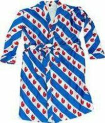 Art badjassen Badjas met Friese vlag opdruk – Vrouw – Bathrobe – Maat S
