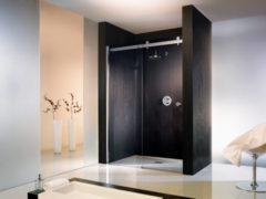 Duschprofi Atelier Schuifdeur 2-delig voor nis 120x200cm Chroom/Helder glas