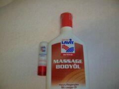 Sport Lavit Body & Massageolie 200ml & Lippenbalsem 4,8gr. 1st