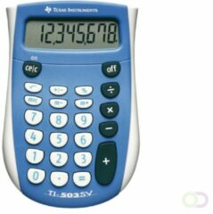 Texas Instruments Zak rekenmachine TI-503SV 80 mm Blauw
