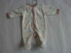 Roze Pyjama noukie's 1maand 56cm meisje hartjes