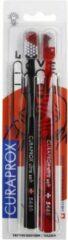 Rode Curaprox Tattoo Edition - Tandenborstel - Extra zacht - 2 Stuks