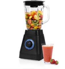 Zwarte Princess 212085 Blender – Capaciteit 1.5 liter – Black Steel Collectie