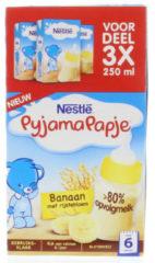Nestle Pyjamapapje Banaan (3 Pakjes van 250 ml)