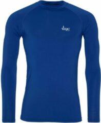 FitProWear Cool Longsleeve Baselayer Blauw Heren Maat M - Lange mouw - Sportkleding - Sportshirt - Trainingskleding - Polyester - Shirt - Slim Fit