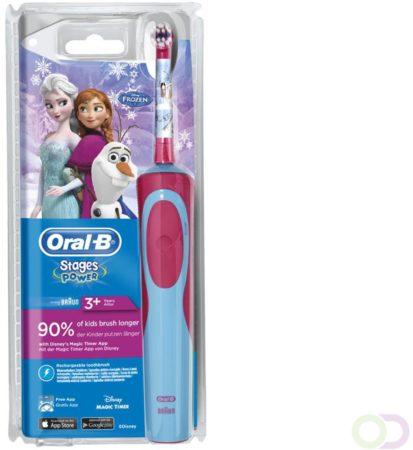 Afbeelding van Oral B Stages Power Elektrische Tandenborstel Disney Frozen - Snoerloos Voordeelverpakking 6xPer st