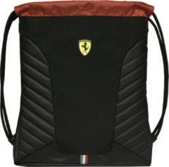 Ferrari Gymbag Nero - 42 x 33 cm - Zwart