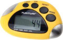 Gele Tunturi Digitale Stappenteller - Pedometer - Walk tracker - De Luxe