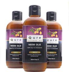 Qure Natural Oil Neem Olie | 100% Puur & Onbewerkt (100ml) | Neemolie voor mens, dier en planten