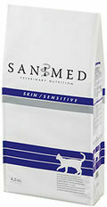 Sanimed Skin Sensitive Cat - 4,5 kg