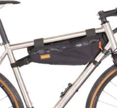 Restrap - Frame Bag Medium - Fietstas maat 3,5 l, zwart/grijs/wit