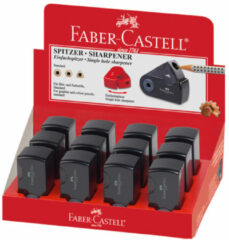 "Faber Castell Puntenslijper Faber-castell """"Sleeve"""" Mini Enkel Zwart"