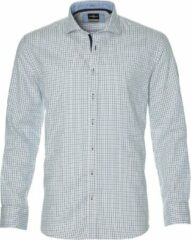 Jac Hensen Overhemd - Regular Fit - Blauw - 3XL Grote Maten