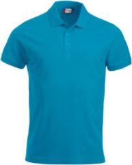 Clique New Classic Lincoln S/S Turquoise maat XXL