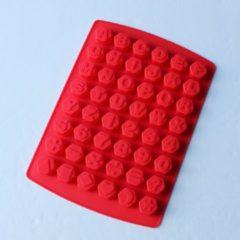 Rode Merkloos / Sans marque EIZOOKSHOP Alfabet en Cijfers bakvorm cakevorm - cijfers en letter vormen