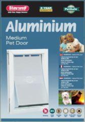 Witte PetSafe Huisdierenluik 620 maximaal 18 kg aluminium 5014