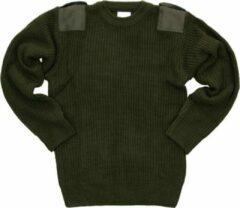 Fostex kinder commando trui groen - Maat 110/116