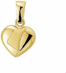 Goudkleurige The Jewelry Collection Hanger Hart Poli/mat - Geelgoud