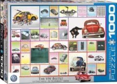 Eurographics legpuzzel - Volkswagen Beetle Collage - 1000 stuks