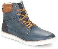Blauwe Hoge Sneakers Bullboxer