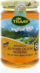 Alpenbloesem honing De Traay - Pot 350 gram - Biologisch