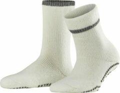 Witte FALKE Cuddle Pads Dames Huissokken - Off-White - Maat 39-42