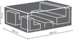 Antraciet-grijze Maxx Lounge set beschermhoes - 240 x 180 x 75 cm - rechthoekig - M