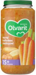 Olvarit Wortel Kalfsvlees Aardappel 15+ Maanden (1 Potje van 250g)