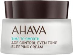 Ahava Gesichtspflege Time To Smooth Age Control Even Tone Sleeping Cream 50 ml