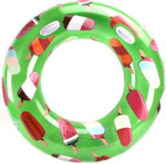 Groene ALERT Zwemring IJs - 119 Cm