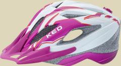 KED Street Junior Pro Kinder/Jugendliche Fahrradhelm Kopfumfang S 49-55 cm violet pearl matt