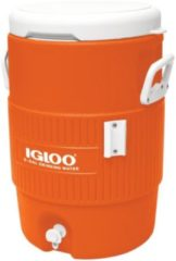 Igloo 5 Gallon Seat Top - Drankdispenser / Drankkoeler - 18 Liter - Oranje