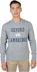 Grijze Oxford University - OXFORD-FLEECE-CREWNECK - Mannen - XL